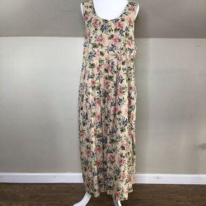 Vintage Laura Ashley Pinafore Dress Jumper Size 14